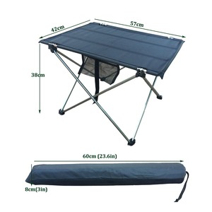 Image 5 - Outdoor Camping Folding Table with Aluminium Alloy  Table Waterproof Ultra light Durable Folding Table Desk For Picnic& Camping