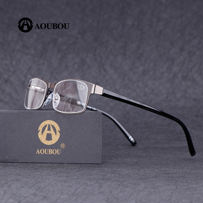 Edelstahl brille lesen gafas presvicia hombre lesebrille 1,5 anteojos de lectura mujer occhiali lettura brillen