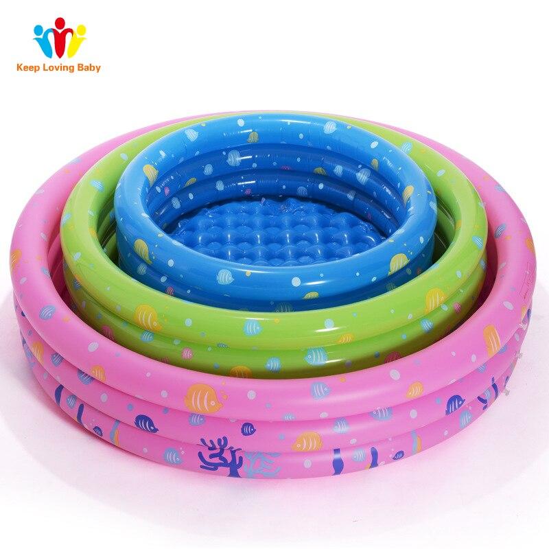 Детский бассейн новорожденных надувной детский бассейн Piscina Портативный открытый дети бассейна Ванна Плавательный accessoire