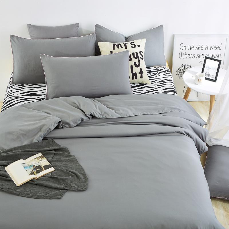 casa de verano conjuntos de ropa de cama hoja de cama de cebra