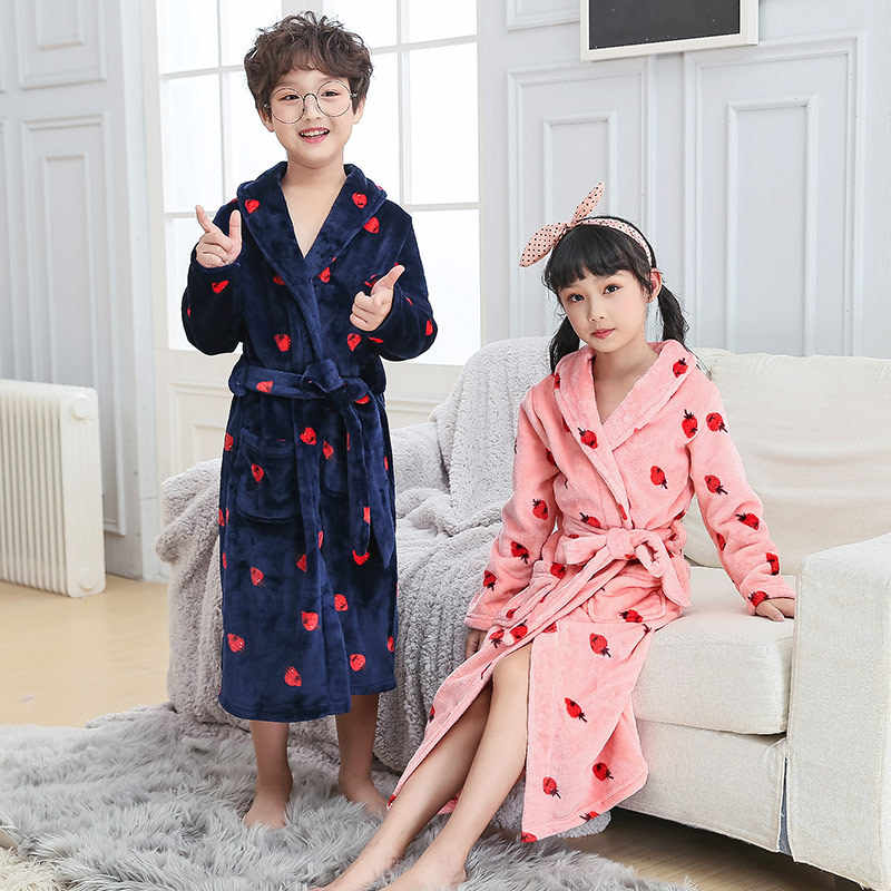 35cdb4c8524fe7 ... Family Look Mother Daughter Bathrobe Kids Matching Clothes Father Son  Robes Mom Mommy and Me Outfits ...