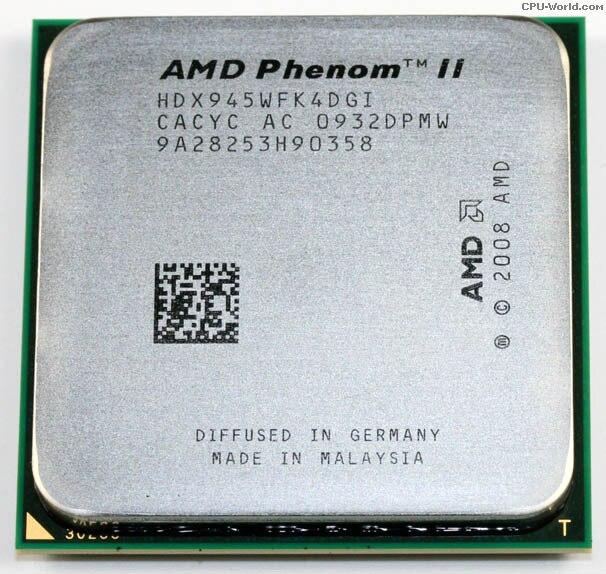 Amd Phenom Ii X4 945 Driver Download