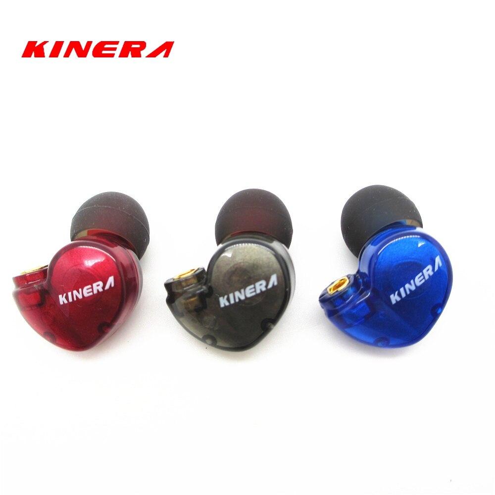 New KINERA BD005 3.5mm In Ear Earphone HIFI Earphone Sport Earphone Monitor Headset Earplug With Mic PK SE215 SE535 sport elite se 2450