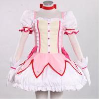 Puella Magi Madoka Magica Kaname Madoka Cosplay Costume Halloween Costume For Women Anime Clothes Girls Fancy