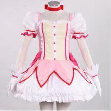 Puella Magi Madoka Magica Kaname Madoka cosplay traje de Halloween para las mujeres ropa de anime girls Fancy dress