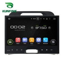 """10.1"""" Quad Core 1024*600 Android 5.1 Car DVD GPS Navigation Player Deckless Car Stereo for KIA SPORTAGE 2010-12 Radio Bluetooth"""