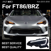 AKD Car Styling Head Lamp for Subaru BRZ Headlights 2013 2018 FT86 GT86 LED Headlight DRL Signal Hid Bi Xenon Auto Accessories