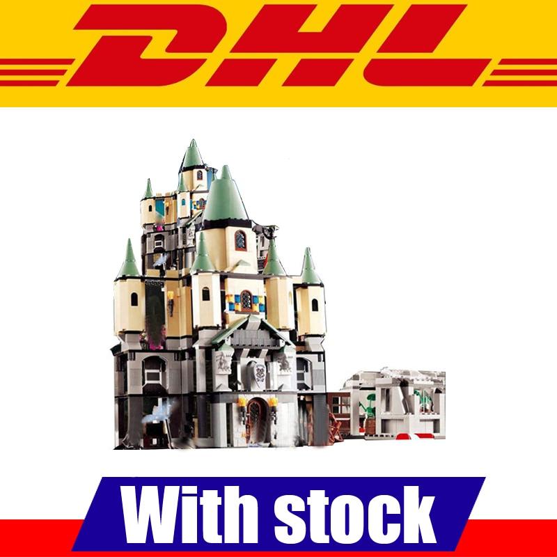 IN Stock LEPIN 16029 1033Pcs The Magic Hogwort Castle Set Children Educational Building Blocks Bricks Toys Gift 5378 dayan gem vi cube speed puzzle magic cubes educational game toys gift for children kids grownups