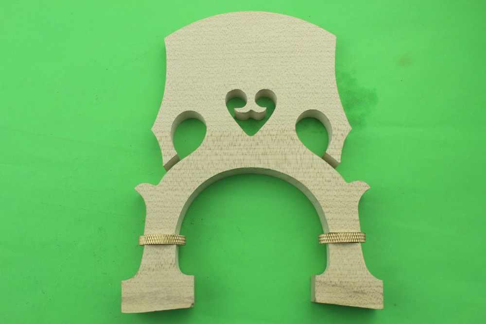 10 шт. новые европейские деревянные клен регулируемые двойные басовые штеги 4/4 Размер
