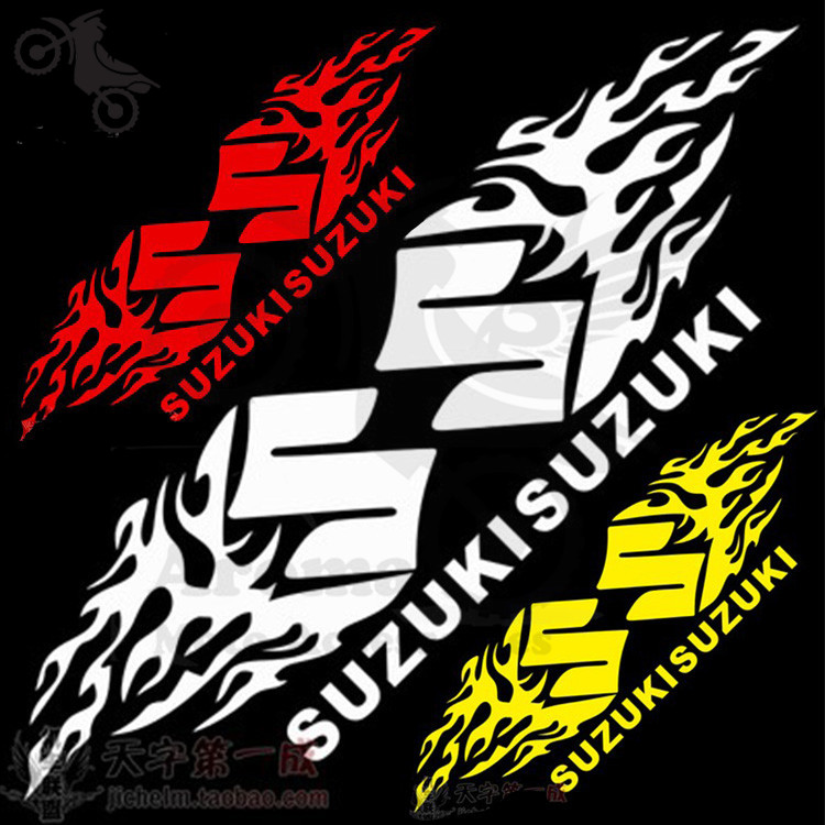 Suzuki Sticker Kamos Sticker - Suzuki motorcycles stickers