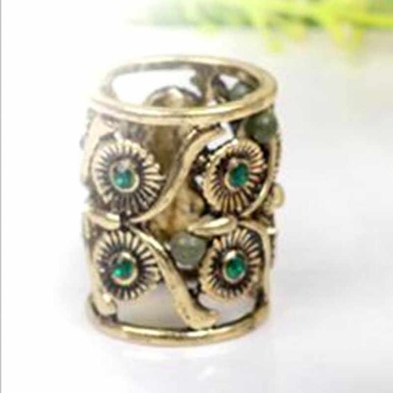 Fashion Retro Hollow Burung Hantu Tabung Syal Gesper Bros Crystal Syal Bros Pernikahan Bros Wanita Hadiah Grosir Perhiasan
