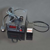 TTL and Analog modulation 100mW 473nm lab quality blue laser with digital and adjustable power supply