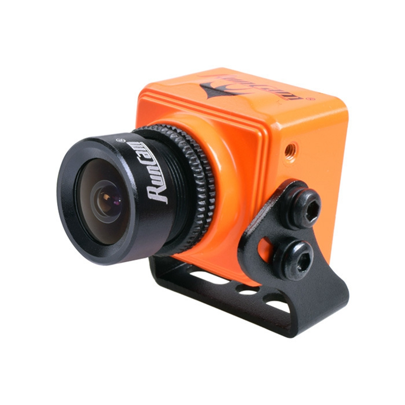 ФОТО New Arrival Runcam Swift Mini 130 Degree 2.5mm Micro FPV Camera PAL/NTSC Orange/Black 22*22mm