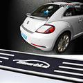 dark luminous sticker Car Rubber Rear Guard Bumper Protector Trim Cover car sticker plate for Beetle