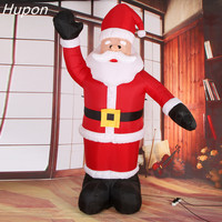 Giant Inflatable Santa Claus Outdoors Christmas Decorations for Home Yard Garden Decoration Merry Christmas Welcome Arches 2018