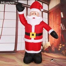 Riesigen Aufblasbaren Santa Claus Im Freien Weihnachten Dekorationen für Haus Hof Garten Dekoration Frohe Weihnachten Willkommen Bögen 2020