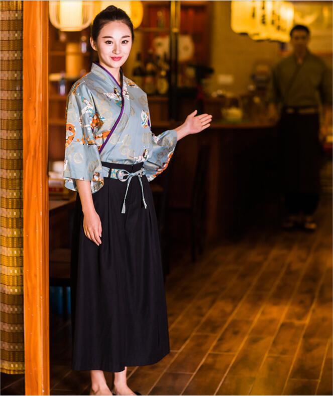 2017 new japanese receptionist uniforms woman japanese