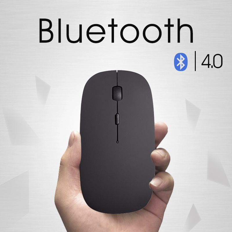 New Bluetooth 4.0 Wireless Mouse Mini Rechargeable Computer Mouse for Dell Acer Hp Asus Mice