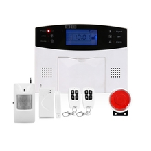 High Quality GSM Alarm System Sensor kit English Spanish Russian Smart Home GSM Burglar Alarm System