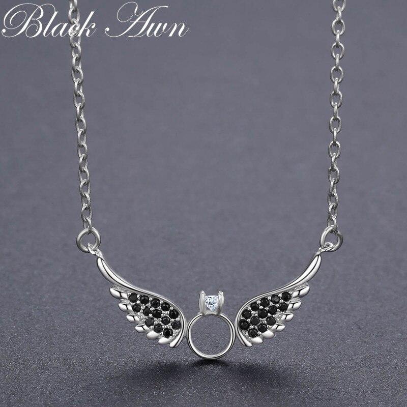 BLACK AWN nieuwe aankomst klassieke 925 sterling zilver fijne - Fijne sieraden - Foto 4