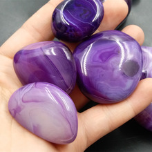New purple agate rough wool Madagascar stone small