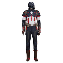 Age of Ultron Avengers Captain America Costume Steve Rogers Outfit Adult Men Halloween Cosplay Costume Custom Made