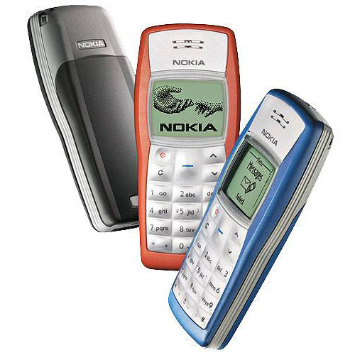 Nokia 1100 Original Unlocked GSM Refurbished Cellphone Cheap Russian with Multi-Languages