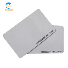 125KHz TK4100 chip Proximity Contactless RFID Smart Thin Cards Read Only used for Access Control System YJ01ID