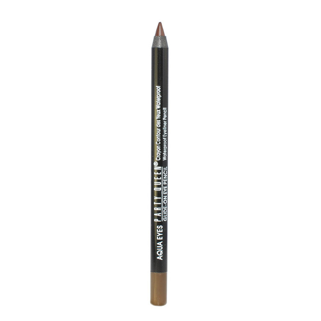 Party Queen Brand New Eye Liner Pencil Makeup Long Lasting Eyeliner Waterproof Black Brown Color Pencil Eyeliner Gel 5