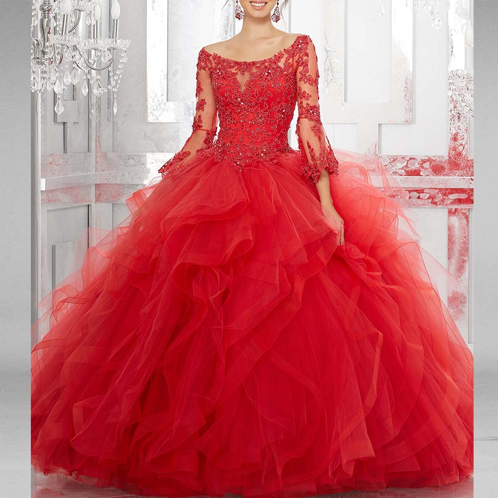 New Ball Gown Quinceanera Dres...