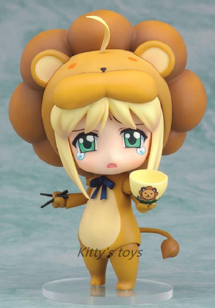 10CM Nendoroid Fate/stay night Saber Lily Lion #50 Boxed PVC Action Figure Model Collection Toy KB0216 Change name: 1