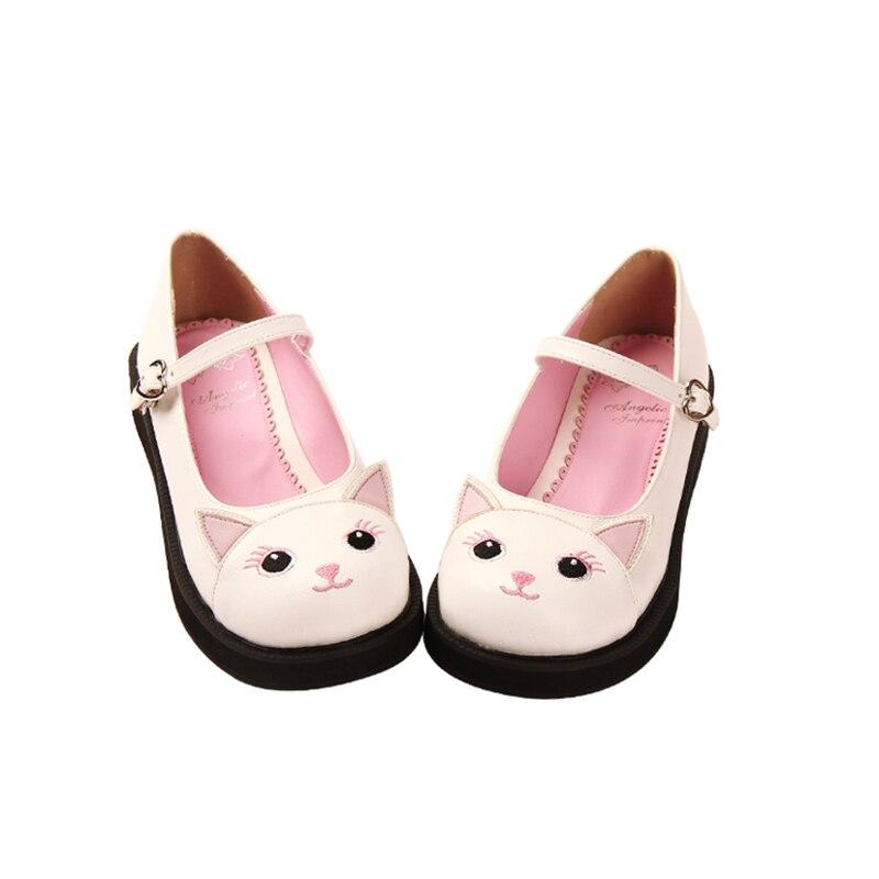 Angélique empreinte Douce Belle Haute Talons Lolita Chaussures Adorable Poupée Plate-Forme des femmes pompes chaussures 35-39 8831