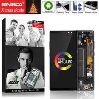AMOLED 6,3 для SAMSUNG Galaxy Note 8 ЖК дисплей с сенсорным экраном с рамкой для SAMSUNG Note 8 N950 N950FD N950U Note8 lcd