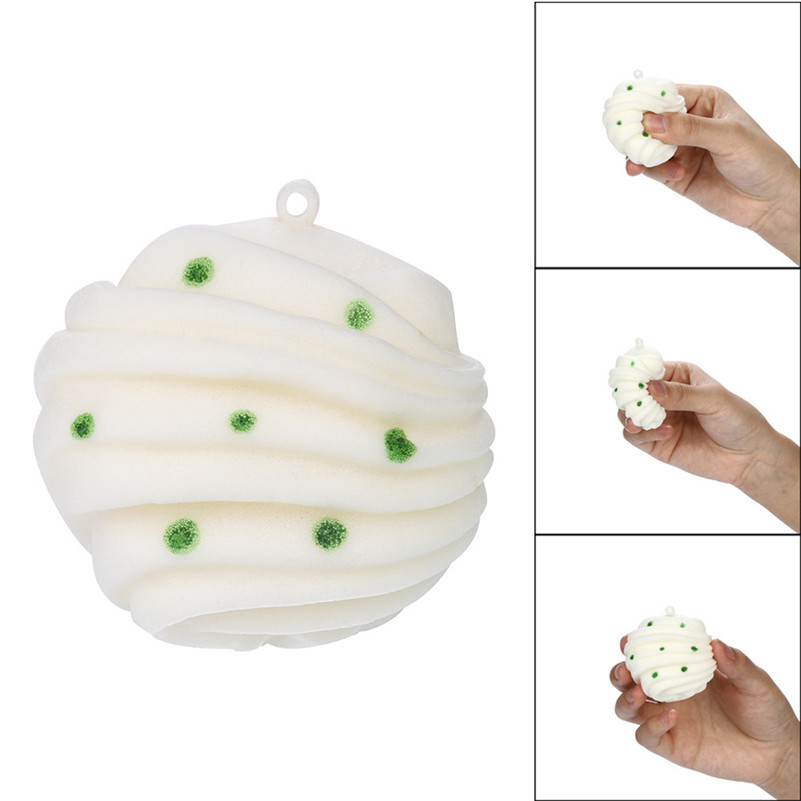 1pc Anti-stress Squishies  Squishies Rolls Of Bread Scented Slow Rising Squeeze Toys Stress Reliever Toys For Kid Child A1