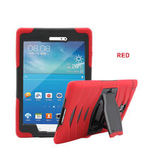 Ontwerp Van Zowel Hard Plastic Hard Hybrid Armor Rugged Cover Case Voor Samsung Galaxy Tab EEN 8.0 SM-T350 T350 # ZS(China)