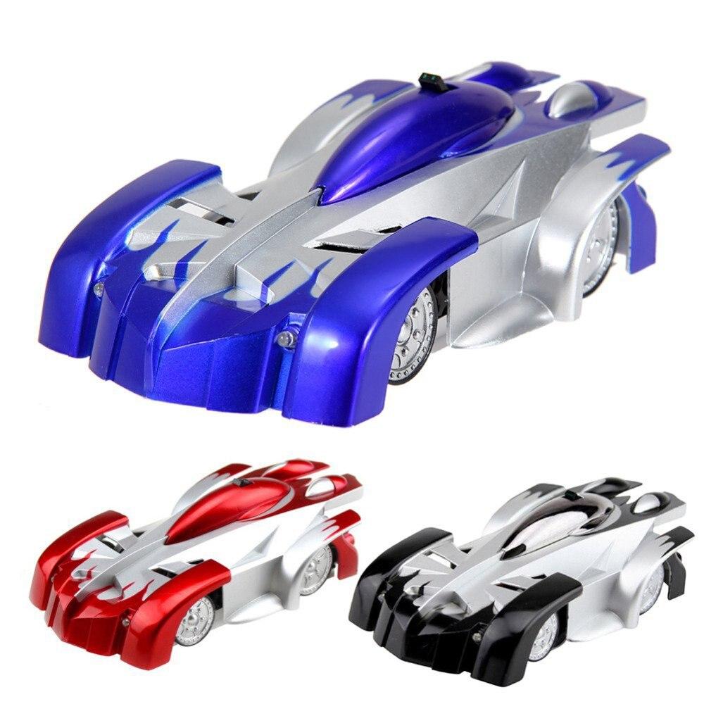 2018 Новый RC восхождение стены автомобиля дистанционного Управление анти Гравитация потолок гоночный автомобиль электрические игрушки машина Авто подарок для детей rc автомобиль