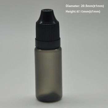 Plastic dropper bottle 10ml 300pcs, empty plastic bottle with dropper 10ml liquid bottle with childproof cap