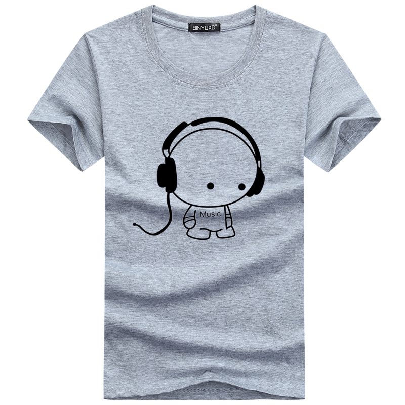 Prodotto binyuxd top quality t shirts fashion headset for Best mens t shirt brands