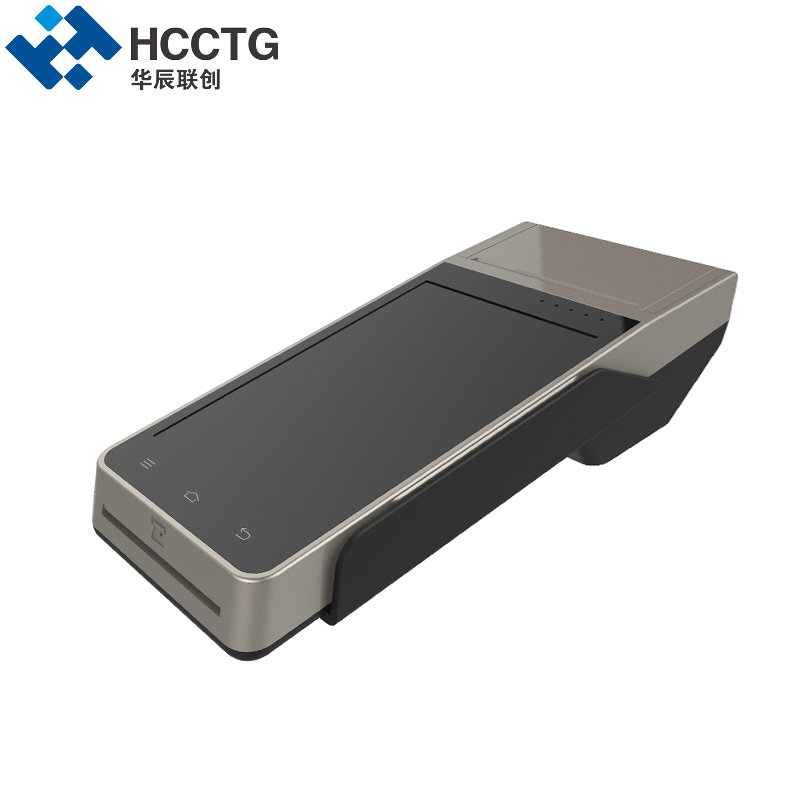 цена HCCZ90 3G WIFI GPRS Bluetooth NFC RFID Chip Magnetic Card Reader With Printer EMV certificated Smart POS Terminal