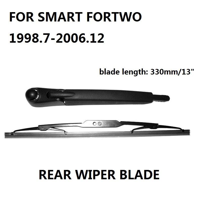 Pour SMART FORTWO bras et lame d'essuie-glace pare-brise arrière 1998.7-2006.12 nouveau