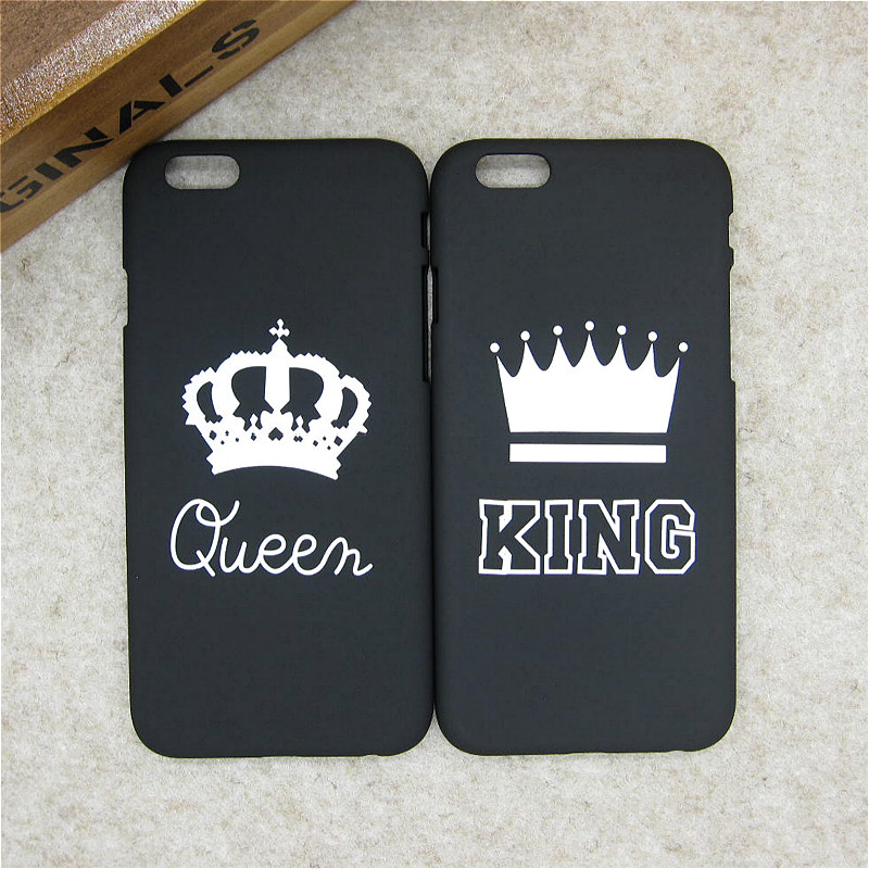 Aliexpress Com Buy Fashion Brand King Queen Matte Hard