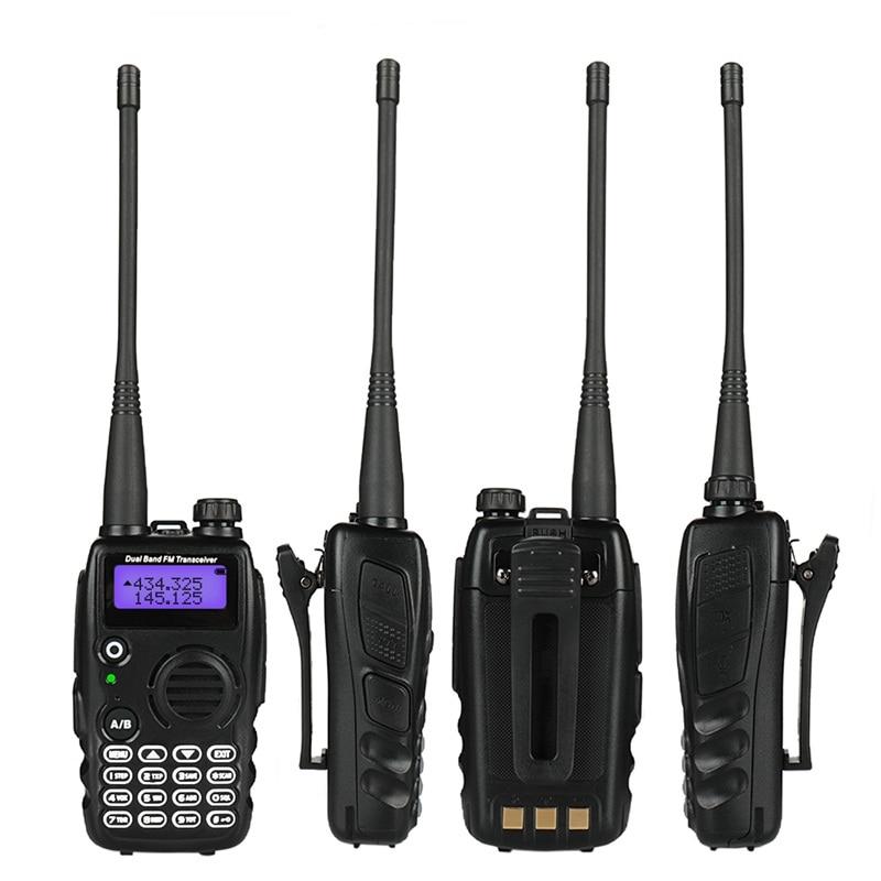 Radioddity GA-5S Walkie Talkie Tri-Color Display VHF/UHF 136-174/400-520 MHz 1800mAh Battery Tri-Power 7W 50 CTCSS/105 CDCSS