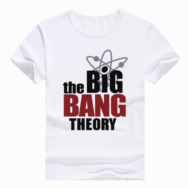 Asian Size Print The Big Bang Theory bazinga Sheldon T-shirt Short sleeve O-Neck T shirt For Men And Women HCP462
