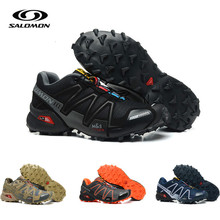 Salomon Speed Cross 3 Cs III Mens Running Shoes Professional Outdoor Male Flywrite Athletic Sport  Fencing  Shoes Speedcroo 3