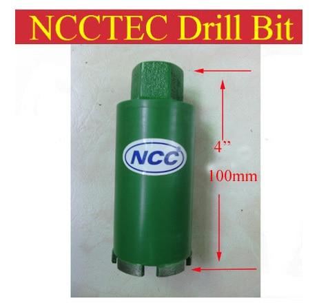 200mm*100mm short crown diamond drilling bits   8'' diameter 4'' length concrete wall wet core