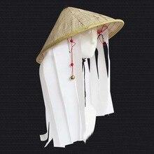 Косплей Hat Наруто Скорпион ласка организации DIDA La пакет hatstraw шляпу, чтобы отправить колокольчиками Ferret