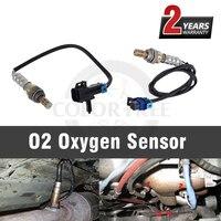 2PCS car Oxygen Sensor for Saturn Ion 2005 2006 2007 Vue 2006 2007 for Chevrolet Cobalt HHR 2006 2007 for Pontiac G5 2007 2008
