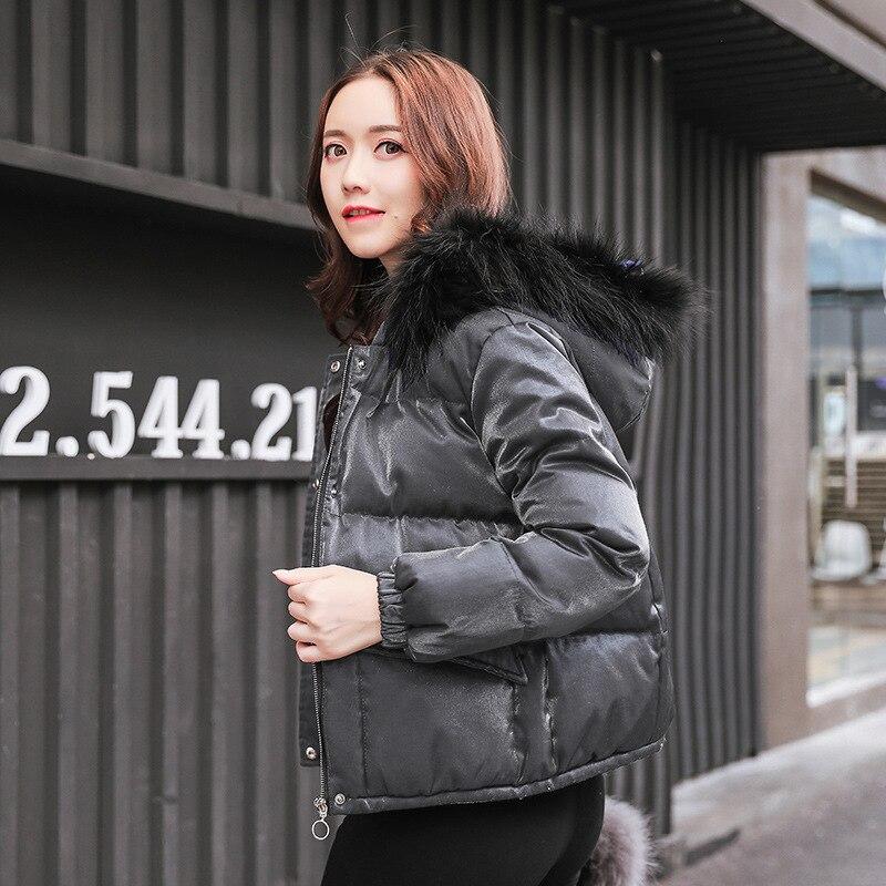 g1 Rembourré Lâche b1 Zipper À Manteau Nouveau Capuchon go Demande D'hiver 2018 Femmes Outwears Automne Me Casual Bl Parkas Mode Longues Manches gr xHwg6BYqn