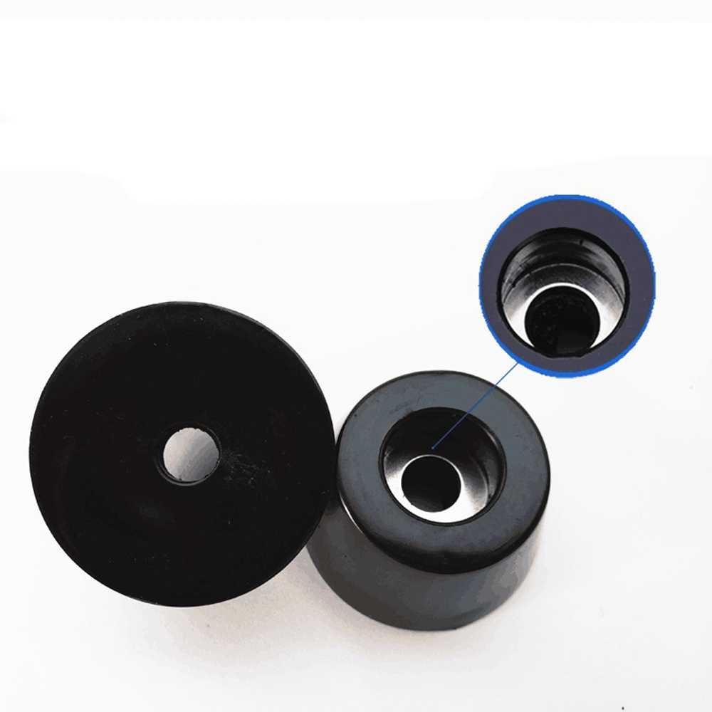 DAYFULI 20 шт черная резиновая фурнитура для столов и стульев ног колодки плитка защита для пола 18x15x5 мм оптовая продажа