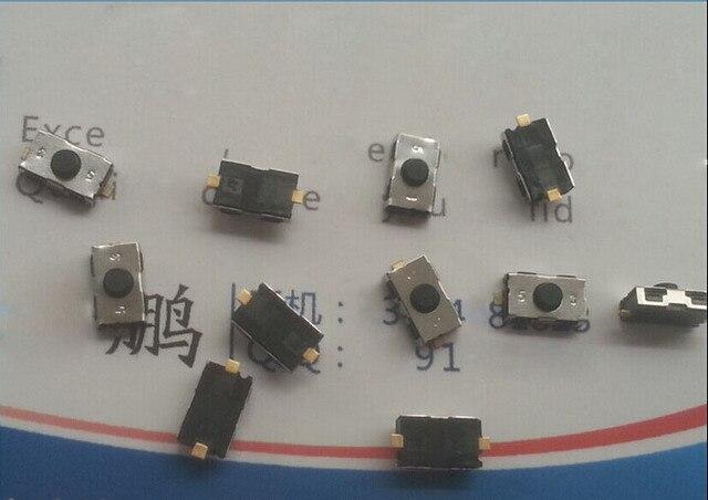 Interruptor táctil de luz de llave para Peugeot Citroen Opel Interruptor táctil pulsador (tamaño: 6x3,8mm) 100 unids/lote